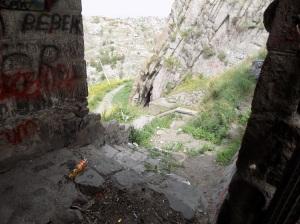 Akkale önü dehliz merdivenleri